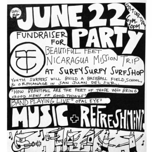 surfy party